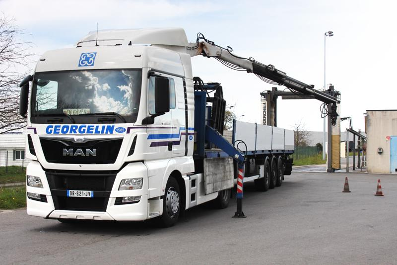 Maintenance - Transports routier - Groupe Georgelin